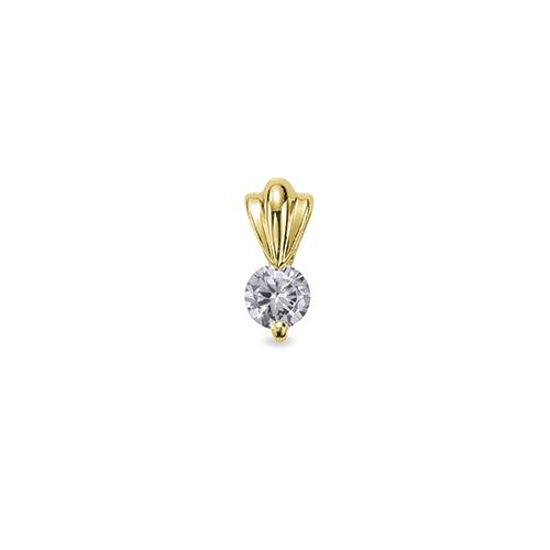 主石の種類が選べる、高級感が漂う18金と天然石のペンダントトップ ペンダントトップ 18金 イエローゴールド 天然石 一粒ペンダント 主石の直径約4.4mm 筋入りバチカン 二本爪留め ペンダントヘッドのみ|K18YG 18k 貴金属 ジュエリー レディース メンズ