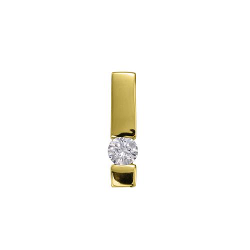 ペンダントトップ 18金 イエローゴールド 天然石 一粒ペンダント 主石の直径約3.8mm レール留め ペンダントヘッドのみ K18YG 18k 貴金属 ジュエリー レディース メンズ