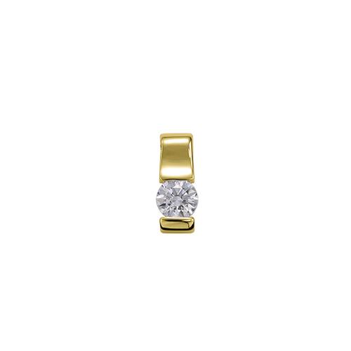 ペンダントトップ 18金 イエローゴールド 天然石 一粒ペンダント 主石の直径約5.2mm レール留め ペンダントヘッドのみ|K18YG 18k 貴金属 ジュエリー レディース メンズ