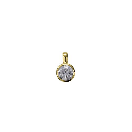 ペンダントトップ 18金 イエローゴールド 天然石 一粒ペンダント 主石の直径約4.4mm 伏せ込み ペンダントヘッドのみ|K18YG 18k 貴金属 ジュエリー レディース メンズ