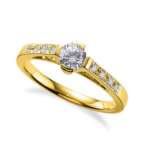 柔らかな質感の 指輪 18金 ギフト イエローゴールド 天然石 サイド一文字リング 主石の直径約4.4mm プレゼント K18YG 18k 貴金属 貴金属 ジュエリー レディース メンズ 母の日 プレゼント ギフト 無料ラッピング, RED ROSE:5a1297aa --- dibranet.com