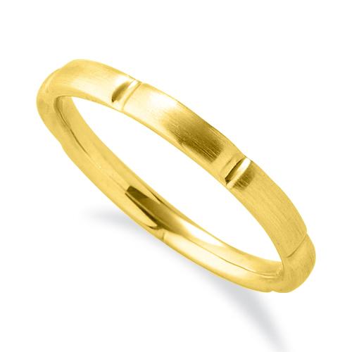 指輪 18金 イエローゴールド シンプルモダンなデザインリング 幅2.3mm|K18YG 18k 貴金属 ジュエリー レディース メンズ