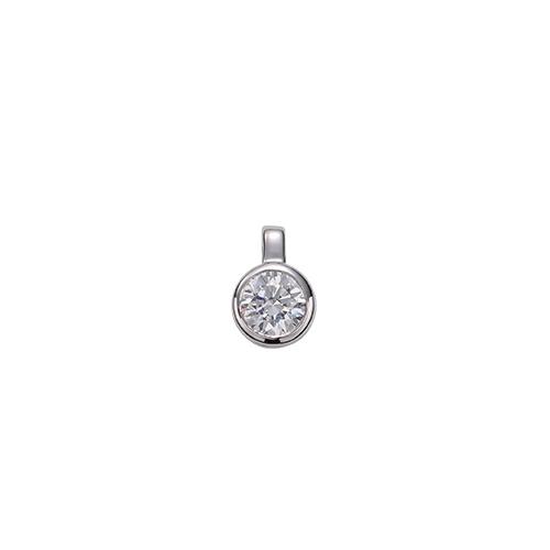ペンダントトップ PT900 プラチナ 天然石 一粒ペンダント 主石の直径約3.8mm 二段腰 伏せ込み ペンダントヘッドのみ|900pt 貴金属 ジュエリー レディース メンズ