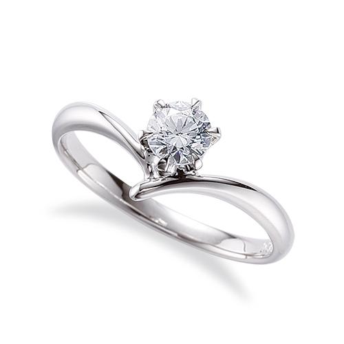 指輪 PT900 プラチナ 天然石 一粒リング 主石の直径約4.4mm ソリティア V字 しぼり腕 六本爪留め|900pt 貴金属 ジュエリー レディース メンズ