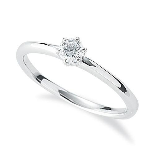 指輪 PT900 プラチナ 天然石 一粒リング 主石の直径約3.4mm ソリティア 六本爪留め|900pt 貴金属 ジュエリー レディース メンズ