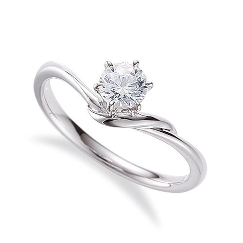 指輪 PT900 プラチナ 天然石 一粒リング 主石の直径約5.2mm ソリティア V字 六本爪留め|900pt 貴金属 ジュエリー レディース メンズ