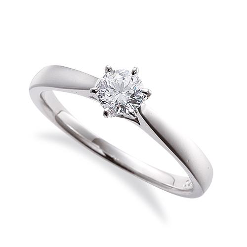 指輪 PT900 プラチナ 天然石 一粒リング 主石の直径約4.4mm ソリティア 平打ち 六本爪留め|900pt 貴金属 ジュエリー レディース メンズ