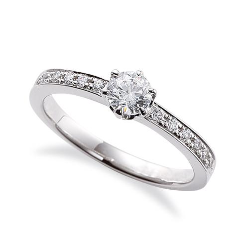 指輪 PT900 プラチナ 天然石 サイド一文字リング 主石の直径約4.4mm 六本爪留め 900pt 貴金属 ジュエリー レディース メンズ
