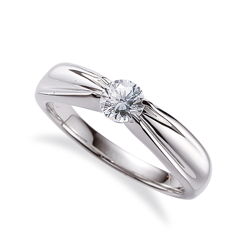 指輪 PT900 プラチナ 天然石 一粒リング 主石の直径約3.8mm ソリティア 四本爪留め|900pt 貴金属 ジュエリー レディース メンズ