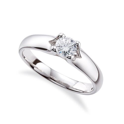 指輪 PT900 プラチナ 天然石 一粒リング 主石の直径約4.4mm ソリティア 四本爪留め|900pt 貴金属 ジュエリー レディース メンズ