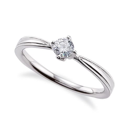 指輪 PT900 プラチナ 天然石 両端ミル打ちの一粒リング 主石の直径約3.8mm ソリティア しぼり腕 四本爪留め|900pt 貴金属 ジュエリー レディース メンズ