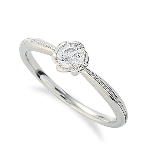 指輪 PT900 プラチナ 天然石 ミル打ちラインの一粒リング 主石の直径約3.8mm ソリティア しぼり腕|900pt 貴金属 ジュエリー レディース メンズ