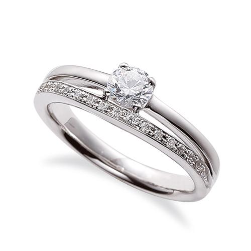 指輪 PT900 プラチナ 天然石 サイド一文字リング 主石の直径約4.4mm 割り腕 四本爪留め|900pt 貴金属 ジュエリー レディース メンズ