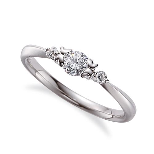 指輪 PT900 プラチナ 天然石 サイドストーンリング 主石の直径約3.8mm|900pt 貴金属 ジュエリー レディース メンズ