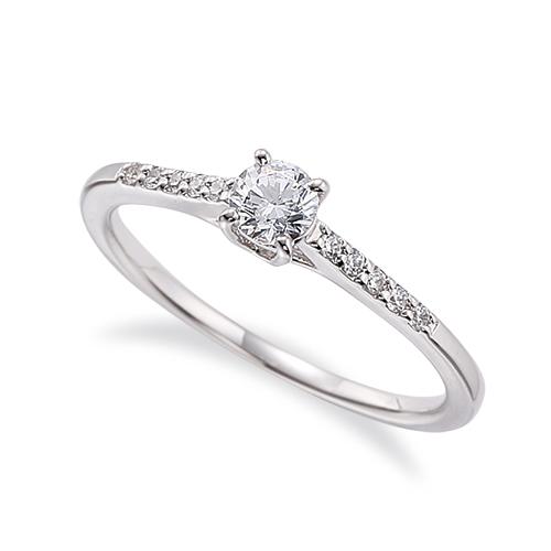 指輪 PT900 プラチナ 天然石 サイド一文字リング 主石の直径約3.8mm 四本爪留め|900pt 貴金属 ジュエリー レディース メンズ