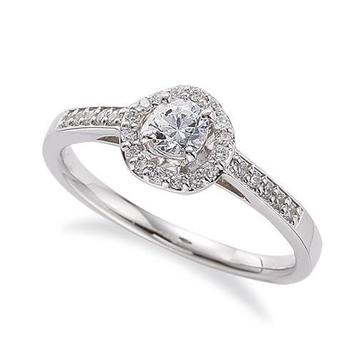 指輪 PT900 プラチナ 天然石 サイド一文字の取り巻きリング 主石の直径約3.8mm 四本爪留め|900pt 貴金属 ジュエリー レディース メンズ