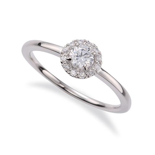 指輪 PT900 プラチナ 天然石 取り巻きリング 主石の直径約3.8mm 四本爪留め|900pt 貴金属 ジュエリー レディース メンズ