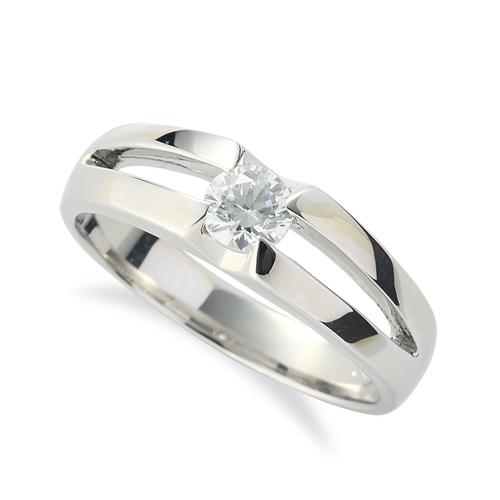 指輪 PT900 プラチナ 天然石 一粒リング 主石の直径約4.4mm ソリティア 割り腕 900pt 貴金属 ジュエリー レディース メンズ