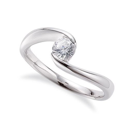 指輪 PT900 プラチナ 天然石 一粒リング 主石の直径約4.4mm ソリティア 抱き合わせ腕 レール留め|900pt 貴金属 ジュエリー レディース メンズ
