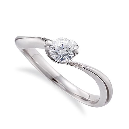 指輪 PT900 プラチナ 天然石 一粒リング 主石の直径約4.4mm ソリティア ウェーブ 900pt 貴金属 ジュエリー レディース メンズ