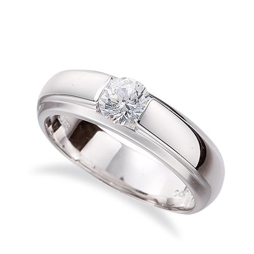 指輪 PT900 プラチナ 天然石 一粒リング 主石の直径約5.2mm ソリティア|900pt 貴金属 ジュエリー レディース メンズ