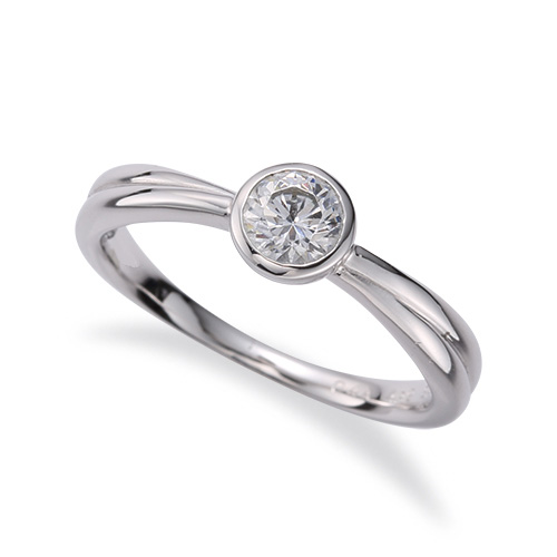 指輪 PT900 プラチナ 天然石 一粒リング 主石の直径約4.4mm ソリティア 900pt 貴金属 ジュエリー レディース メンズ
