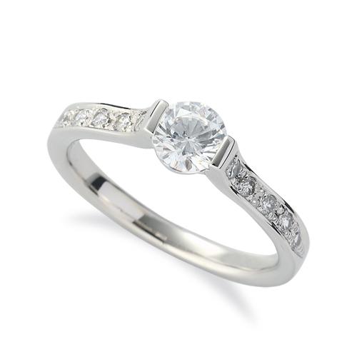 指輪 PT900 プラチナ 天然石 サイド一文字リング 主石の直径約5.2mm 900pt 貴金属 ジュエリー レディース メンズ