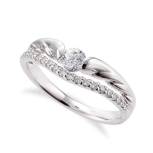 指輪 PT900 プラチナ 天然石 メレがラインになったサイドストーンリング 主石の直径約3.8mm V字 割り腕|900pt 貴金属 ジュエリー レディース メンズ
