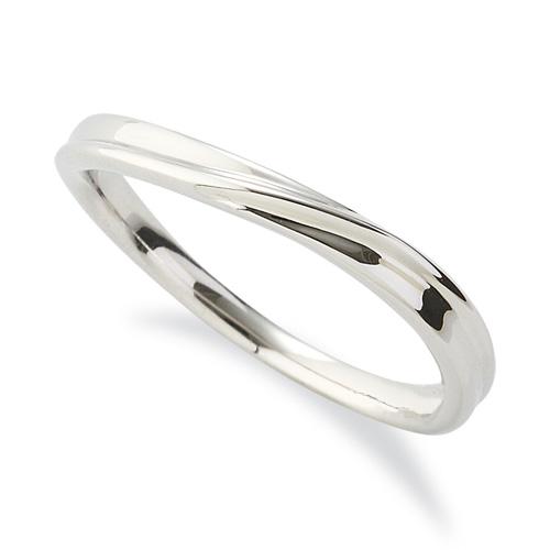 指輪 PT900 プラチナ シンプルモダンなウェーブリング 幅2.5mm|900pt 貴金属 ジュエリー レディース メンズ