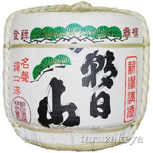 朝日山樽酒 1斗樽[18L]【受注生産】【代引き不可】