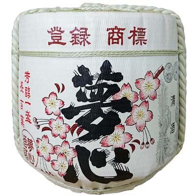 飾り樽[夢心]2斗樽(ディスプレイ樽)Japanese Decorative barrel