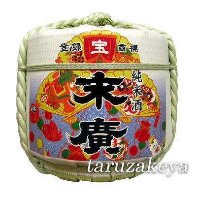 飾り樽[末廣 宝]4斗樽(ディスプレイ樽)Japanese Decorative barrel