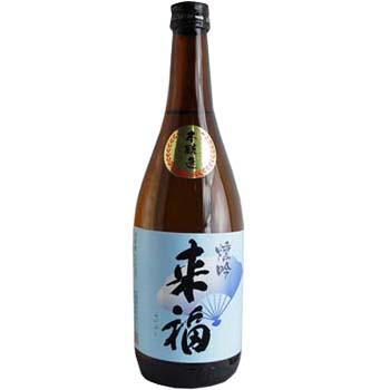 祝酒 来福 720ml(1箱12本入り)【楽ギフ_のし】