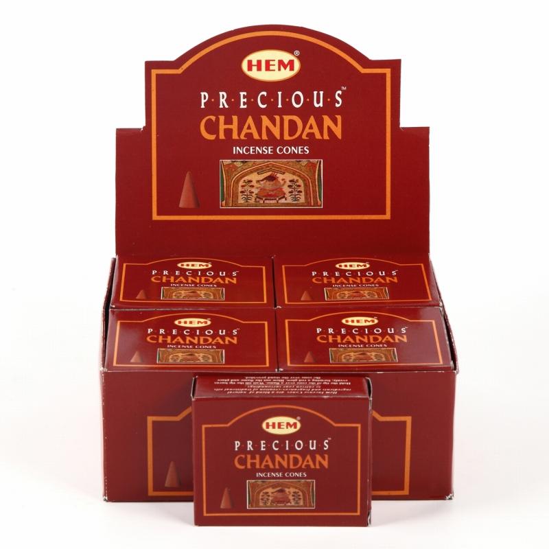 世界中で人気のお香です 限定特別価格 高額売筋 HEM コーン香12個入り チャンダン 素敵なプレゼント付 ヘム 激安 インド 新入荷 流行 お香 CHANDAN