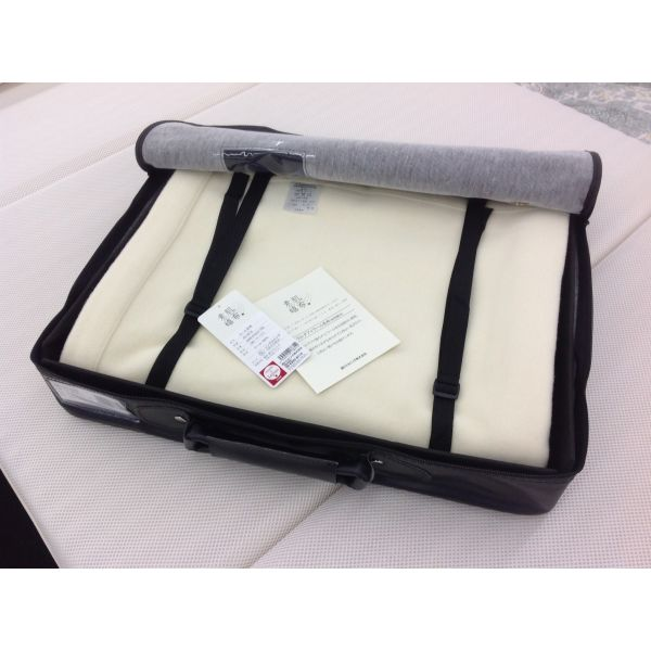 西川リビング ウール毛布 ウルグアイ産 メリノウール使用 シングル 日本製 2040-01622