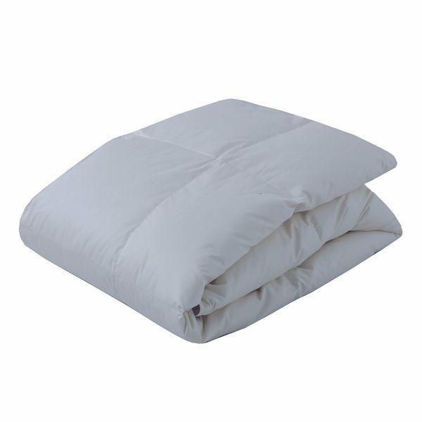 東京西川 羽毛肌掛け布団 西川プレミアム シングル ホワイトグースダウン90% 0.3kg 日本製