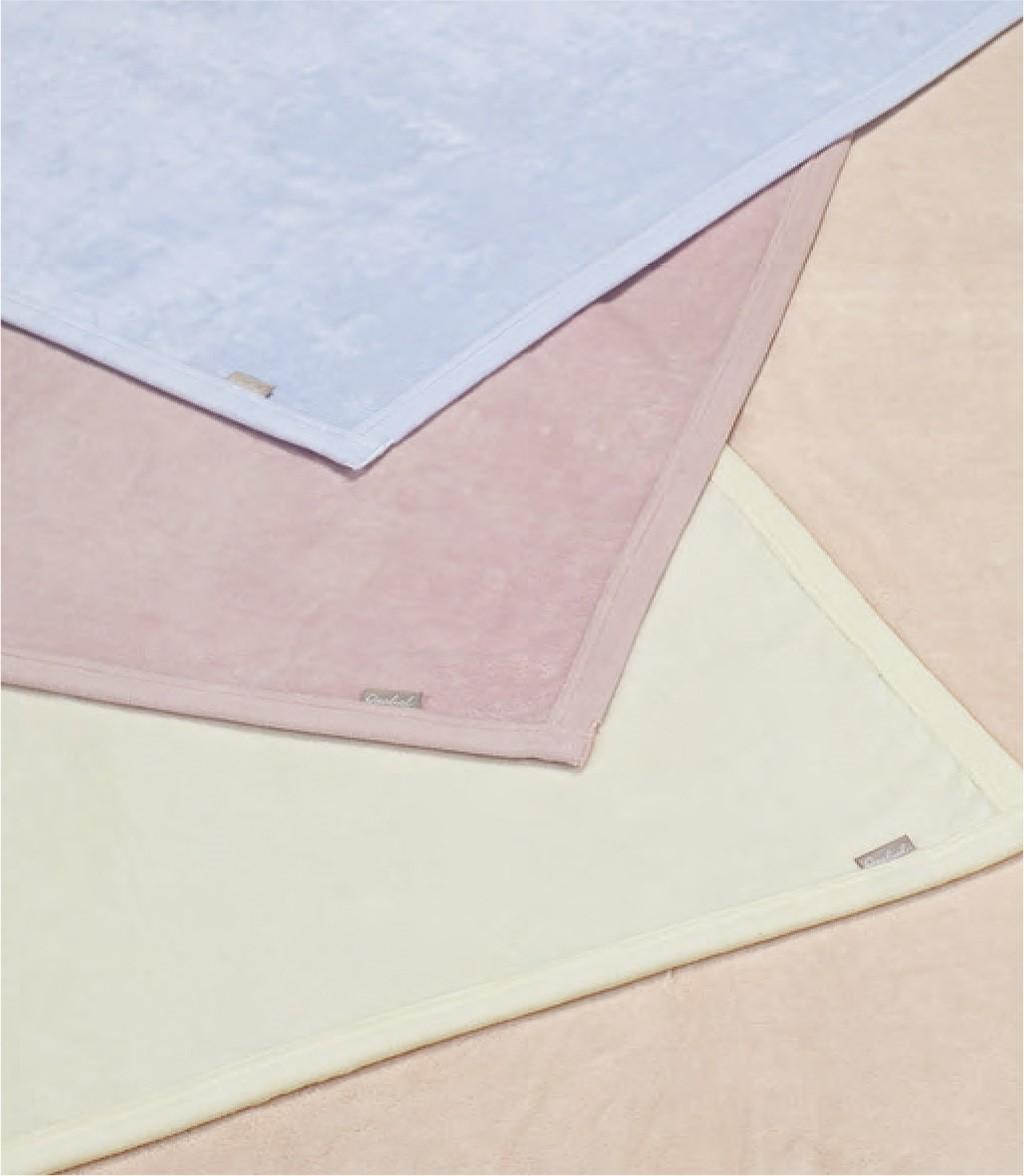 クオリアル シール織り 綿毛布 シングル 西川 日本製 QL0604