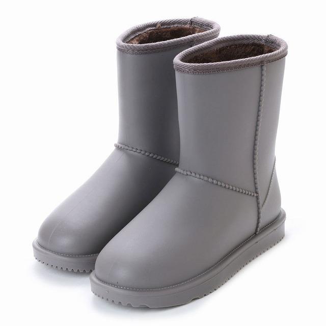 内ボア仕様で暖かく 快適な履き心地のレインブーツ 基本送料無料 レディース 最新号掲載アイテム レインブーツ ムートンブーツ風 あったかボア 裏起毛 美品 婦人 条件付サイズ交換無料 完全防水 af_16604 長靴 防寒