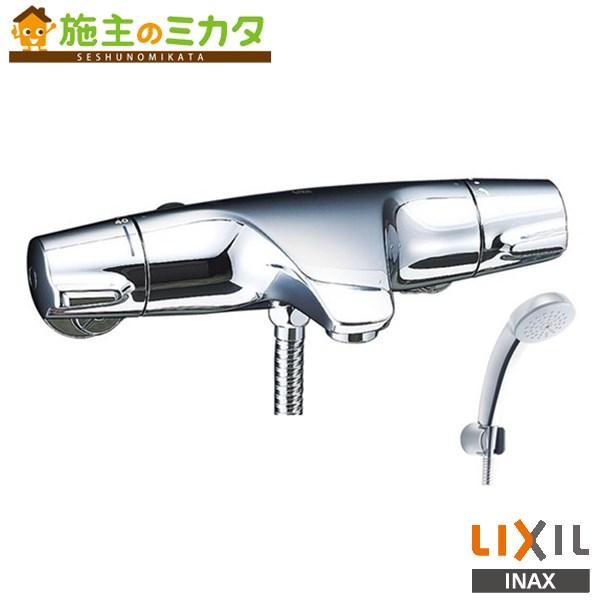 INAX LIXIL サーモスタット付シャワーバス水栓 【BF-J147TSC】 ジュエラ エコフルスプレーシャワー 蛇口 リクシル