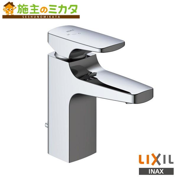 INAX LIXIL シングルレバー混合水栓 【LF-YA340SYN】 キュビア(エコハンドル) ポップアップ式寒冷地仕様 蛇口 リクシル