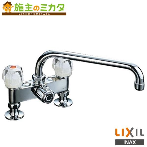 INAX LIXIL 2ハンドル混合水栓 【SF-135K(260)-G】 Gハンドル 一時止水付吐水口長さ:260mm キッチン用 蛇口 リクシル★
