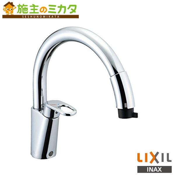INAX LIXIL ハンドシャワー付シングルレバー混合水栓 【SF-HM451SYXU】 グースネック キッチン用 蛇口 リクシル★