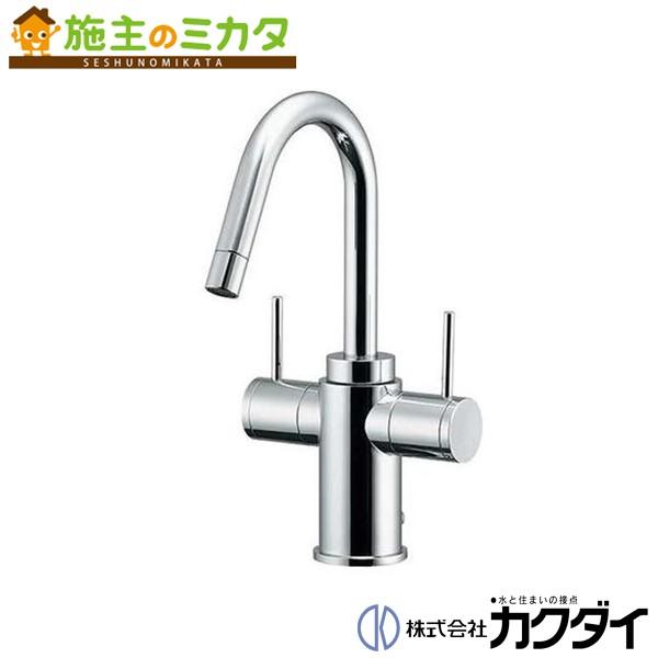 カクダイ 【150-410】 KAKUDAI 2ハンドル混合栓 混合水栓 蛇口 ★