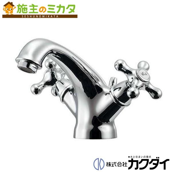 カクダイ 【150-453】 KAKUDAI 2ハンドル混合栓 混合水栓 蛇口 ★