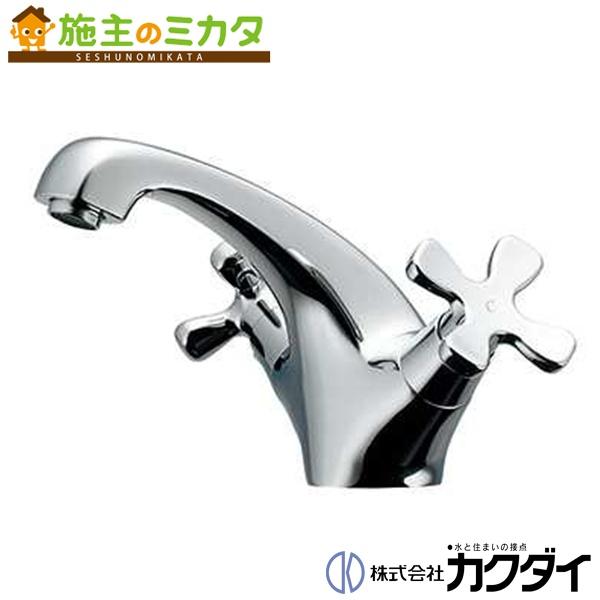 カクダイ 【150-435】 KAKUDAI 2ハンドル混合栓 混合水栓 蛇口 ★