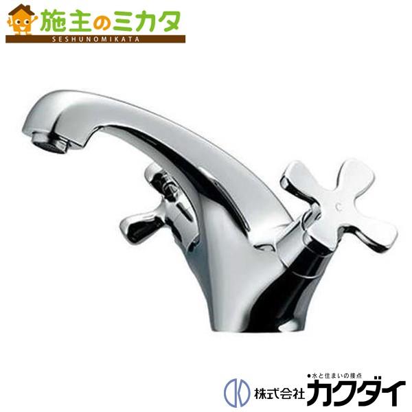 カクダイ 【150-436】 KAKUDAI 2ハンドル混合栓 混合水栓 蛇口 ★