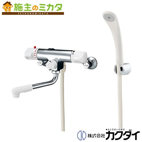 カクダイ 【173-132】 KAKUDAI サーモスタットシャワー混合栓(逆配管) 混合水栓 ★