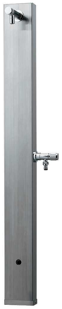 カクダイ 【624-107】※ KAKUDAI ステンレス水栓柱//ヘアライン仕上げ