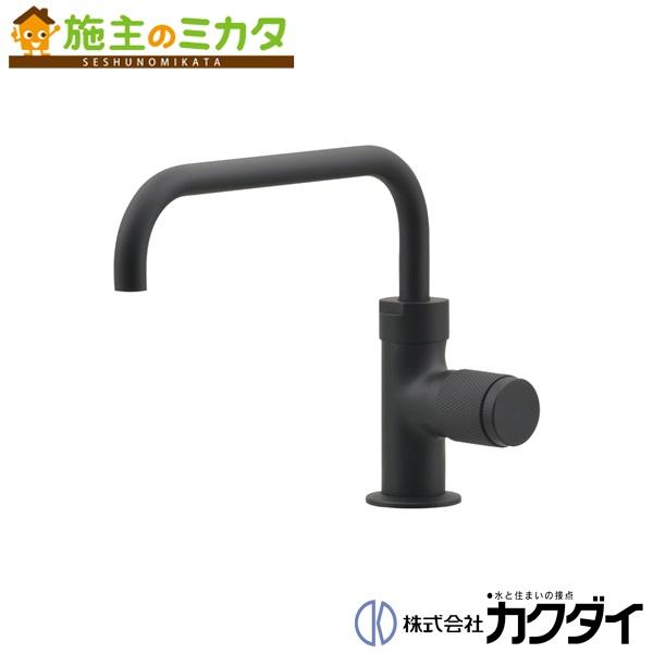 カクダイ 【721-221-D】 KAKUDAI 立水栓(マットブラック) 蛇口 ★
