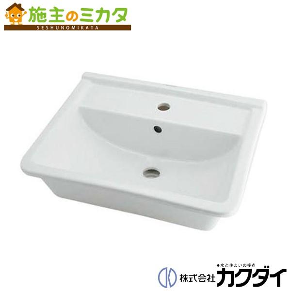 カクダイ 【#DU-0302560000】 KAKUDAI 角型洗面器//1ホール★